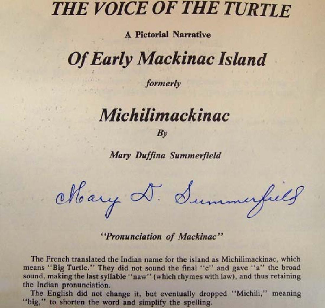 1975 Mackinac Island Pictorial Narrative, Softback - 2