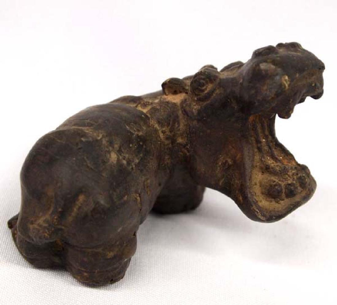 Bronze Hippopotamus