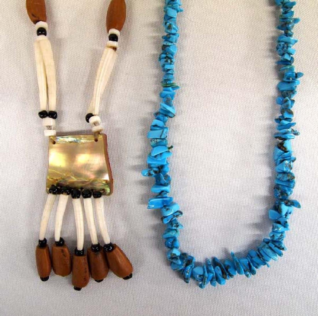 Pair of Native American Necklaces
