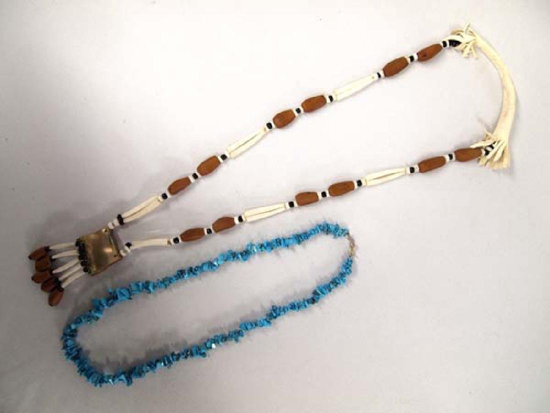 Pair of Native American Necklaces - 2