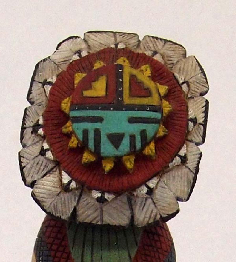 1998 Hopi ''Sun'' Kachina by Tom Fredericks - 2