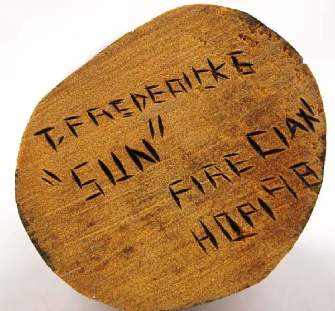1998 Hopi ''Sun'' Kachina by Tom Fredericks - 5