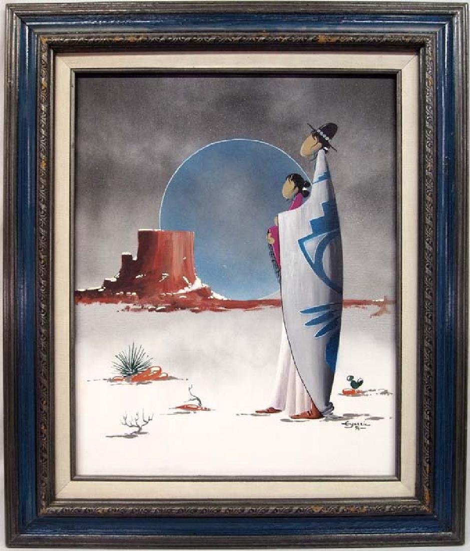 Original Acrylic Painting by Edison B. Yazzie