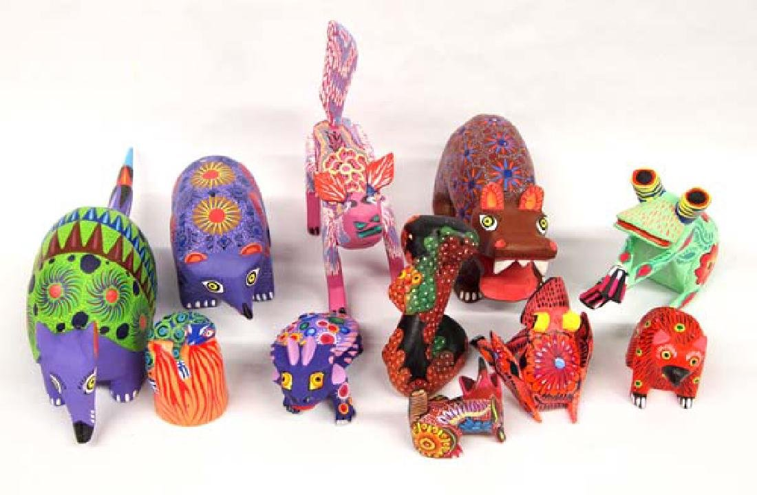 Collection of Mexican Oaxacan Alebrijes