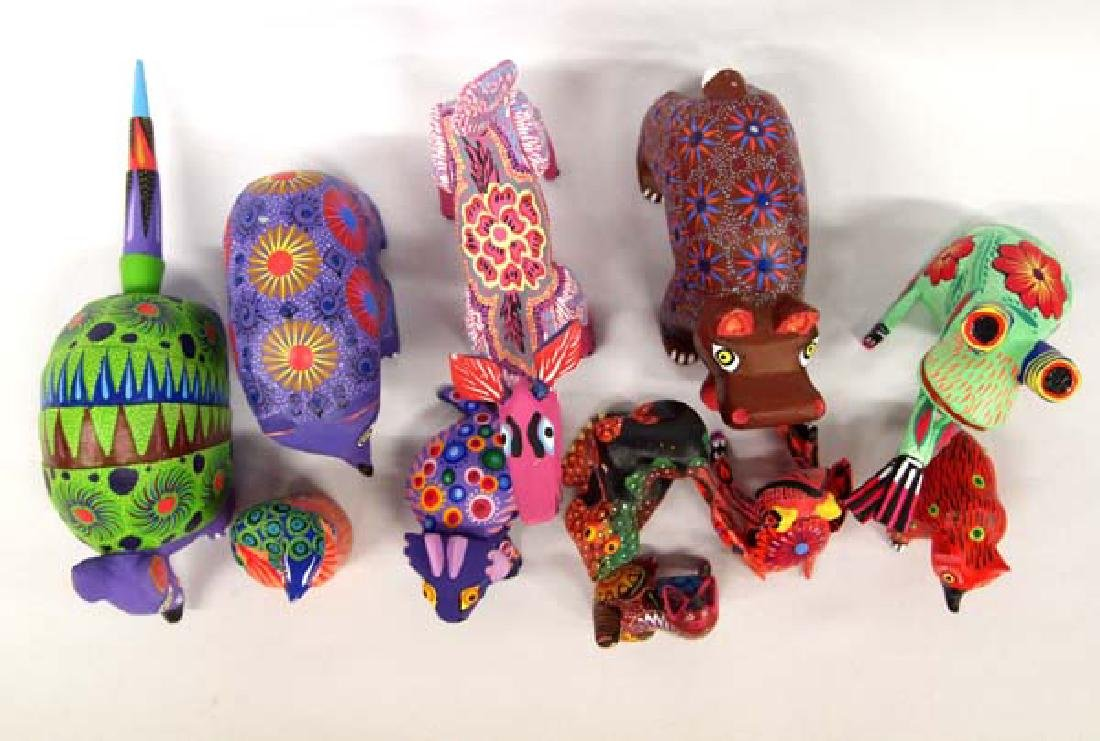 Collection of Mexican Oaxacan Alebrijes - 2