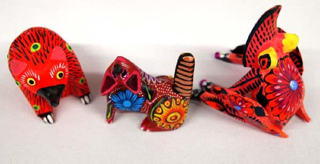 Collection of Mexican Oaxacan Alebrijes - 3