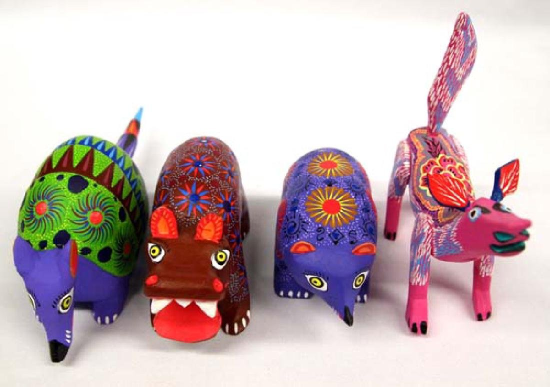 Collection of Mexican Oaxacan Alebrijes - 5