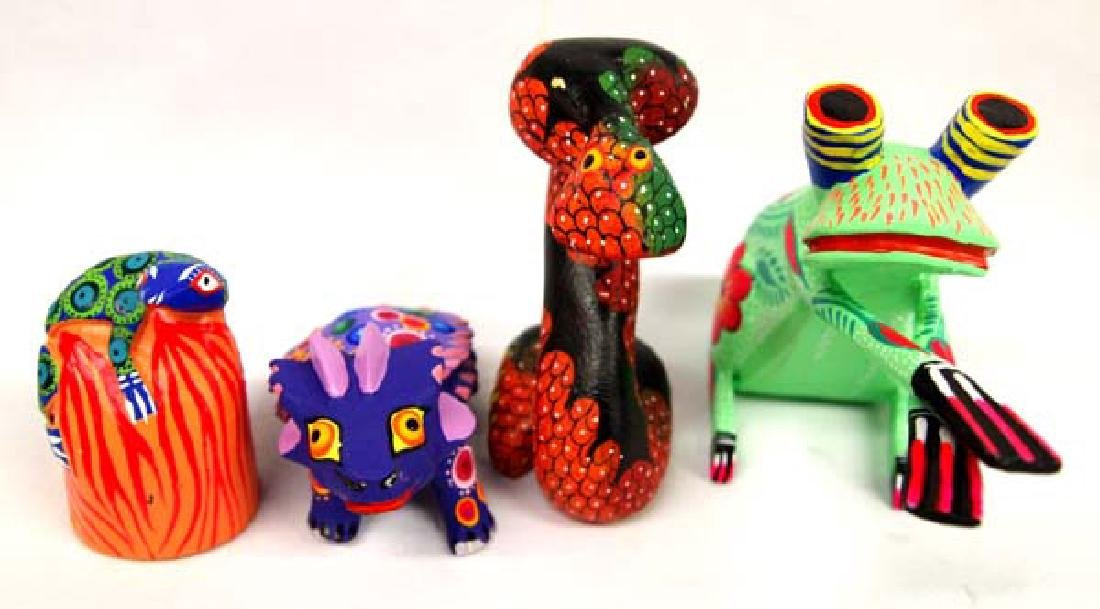 Collection of Mexican Oaxacan Alebrijes - 7