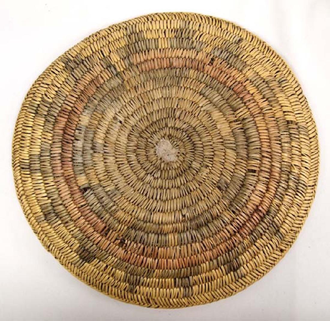 Antique Native American Navajo Wedding Basket - 2