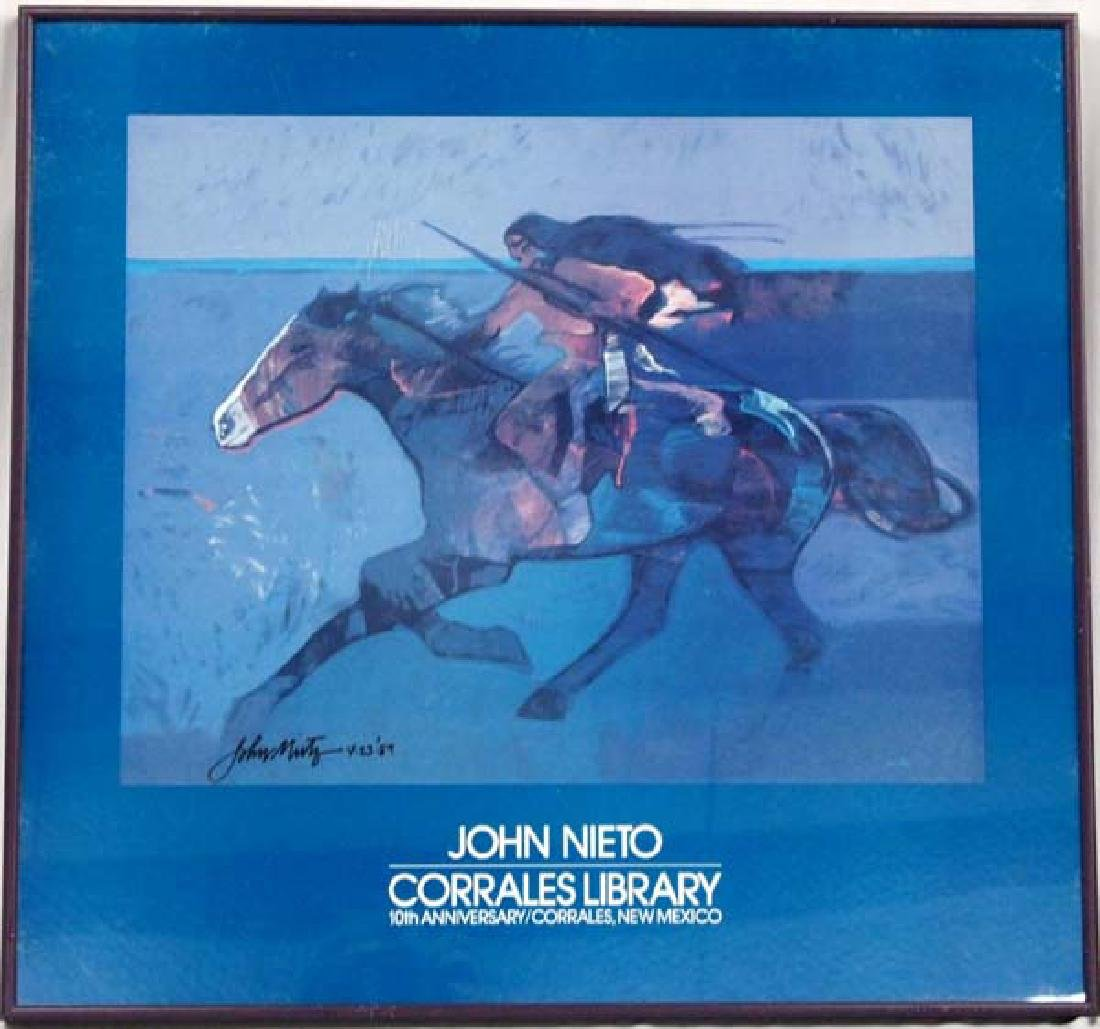 Signed Limited Edition Print by John Nieto