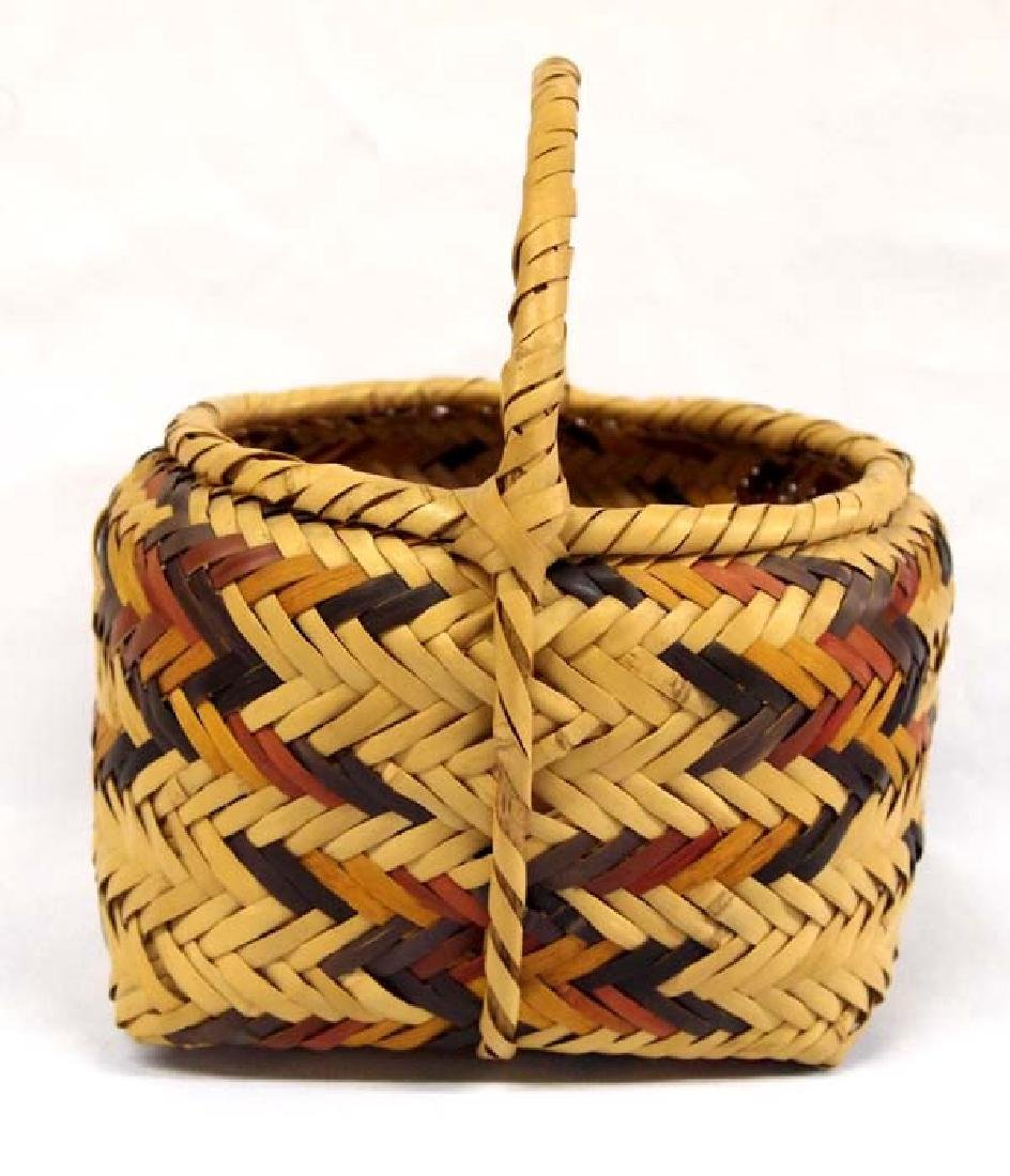 Native American Cherokee Basket