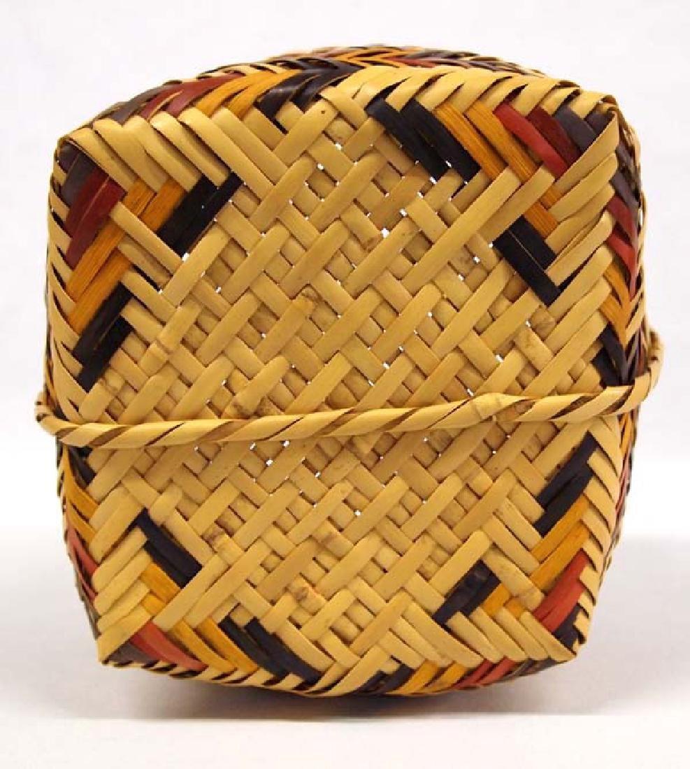 Native American Cherokee Basket - 3