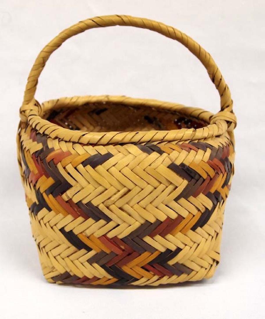 Native American Cherokee Basket - 4