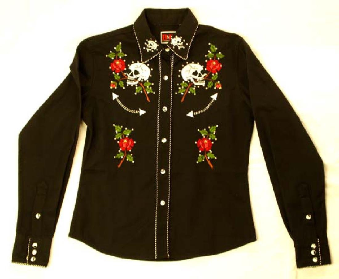 Brooks and Dunn Day of the Dead Ladies Shirt
