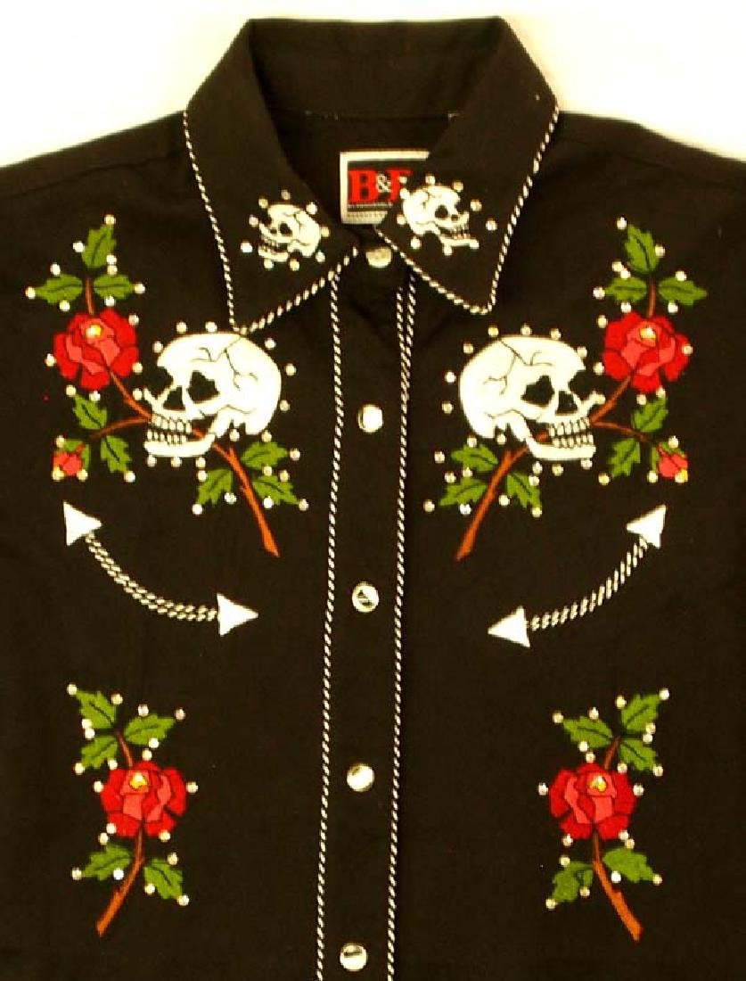 Brooks and Dunn Day of the Dead Ladies Shirt - 2