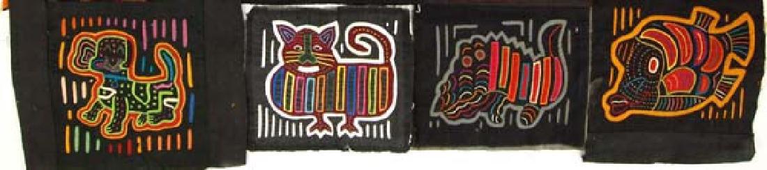 Vintage San Blas Islands Kuna Indian Mola Textiles - 2