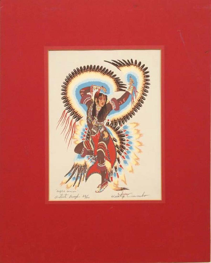 Woody Crumbo Eagle Dancer Signed Artist Proof