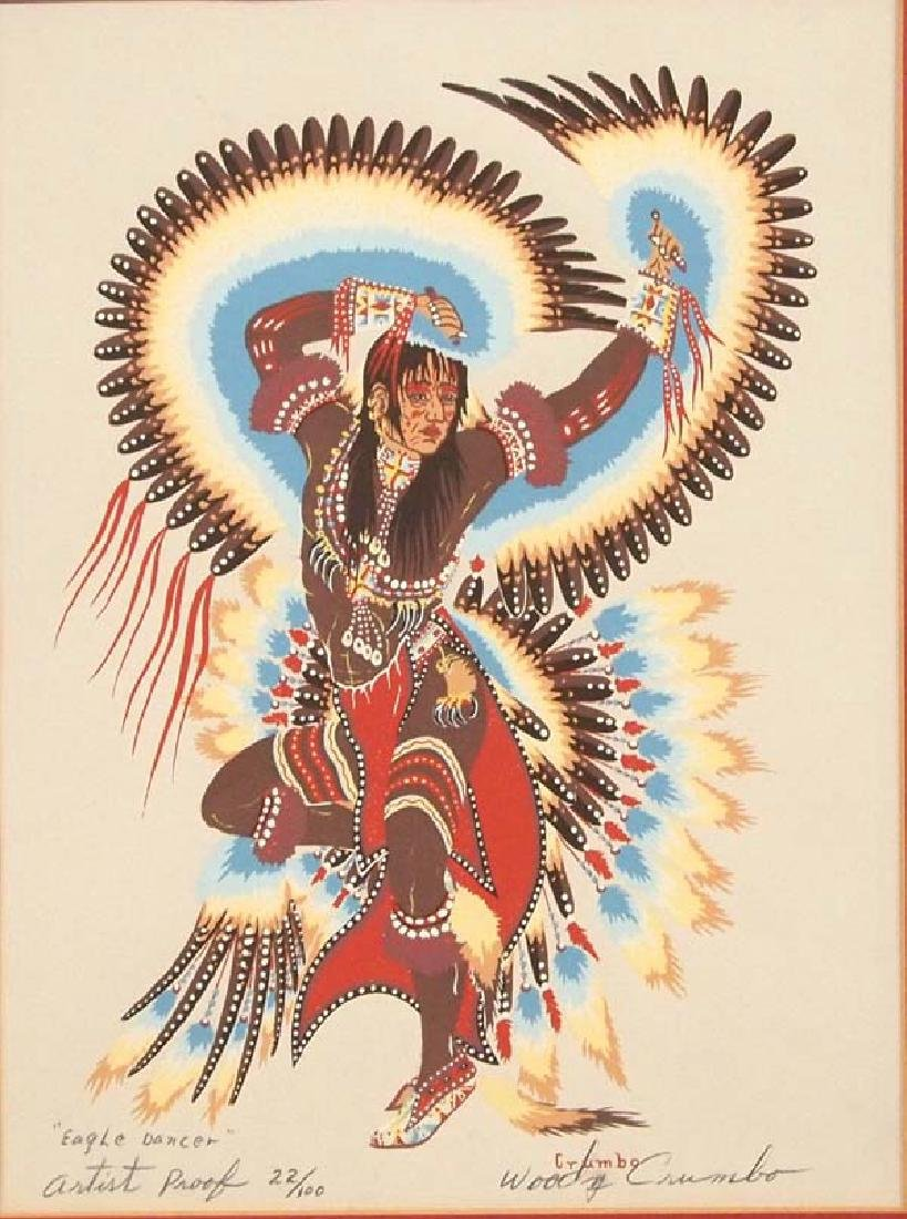 Woody Crumbo Eagle Dancer Signed Artist Proof - 2