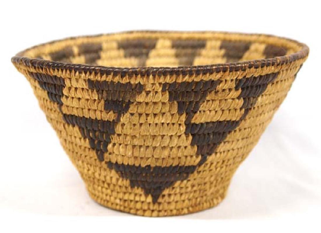 Old Tohono O'odham Conical Basket