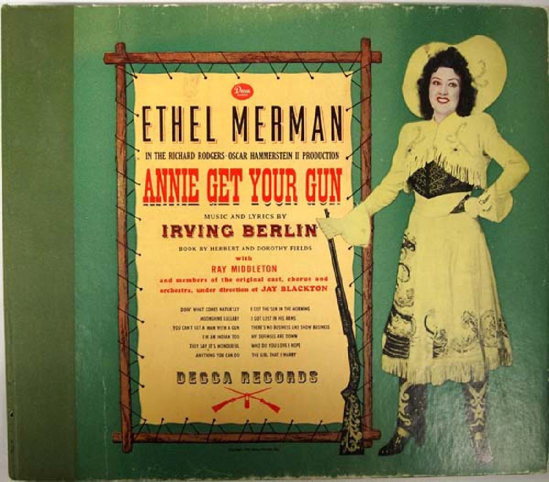Ethel Merman in Annie Get Your Gun, Record Albums