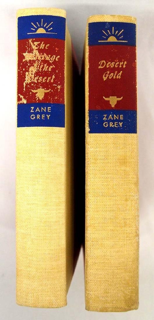 2 Hardback Zane Grey Books