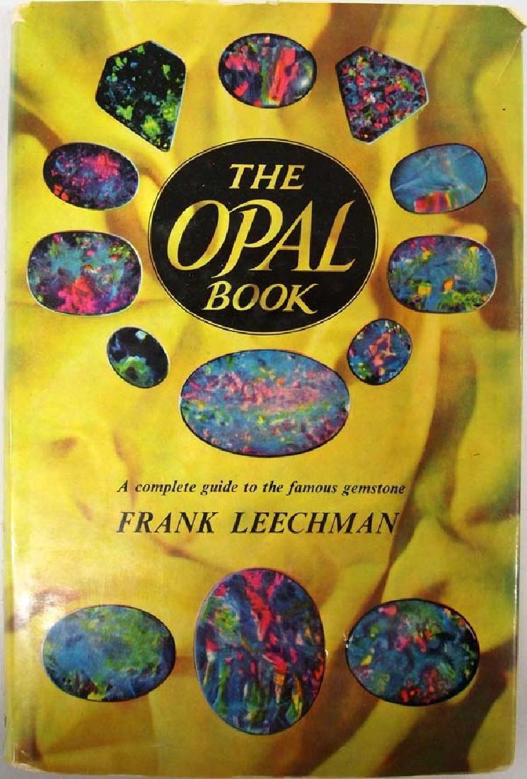 The Opal Book by Frank Leechman, Hardback Book