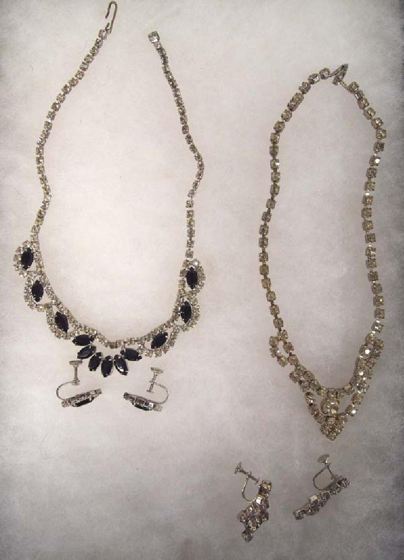 1940 Estate Rhinestone Jewelry