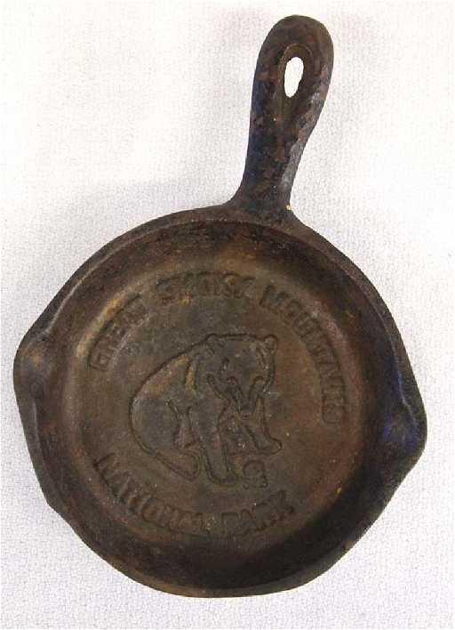 Miniature Cast Iron Skillet Souvenir