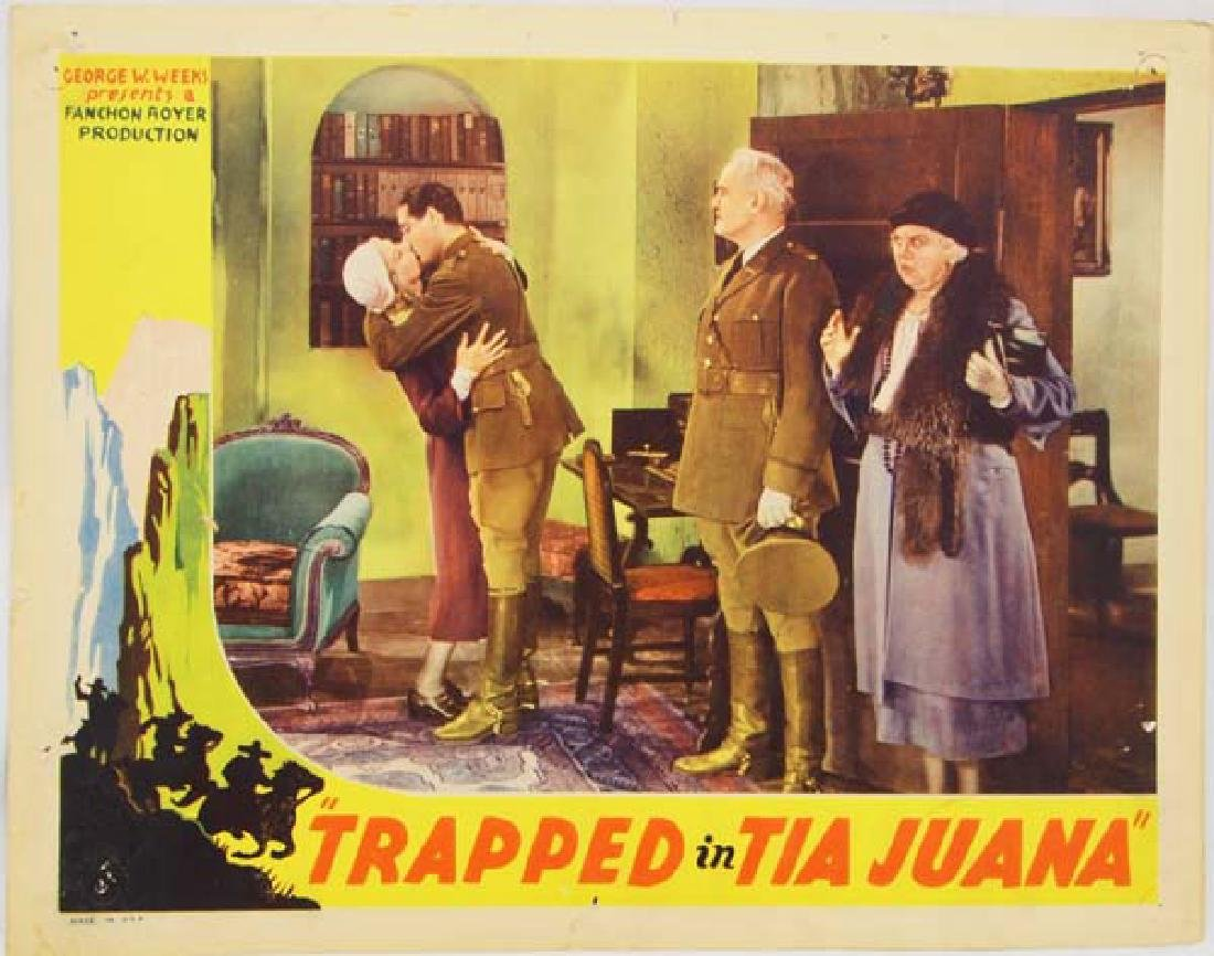 1932 Movie Poster Trapped in Tia Juana