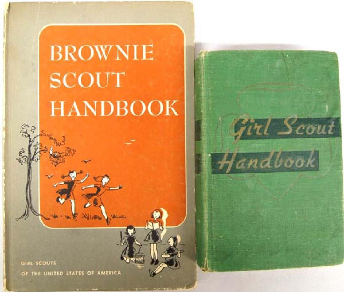 Girl Scout and Brownie Handbooks