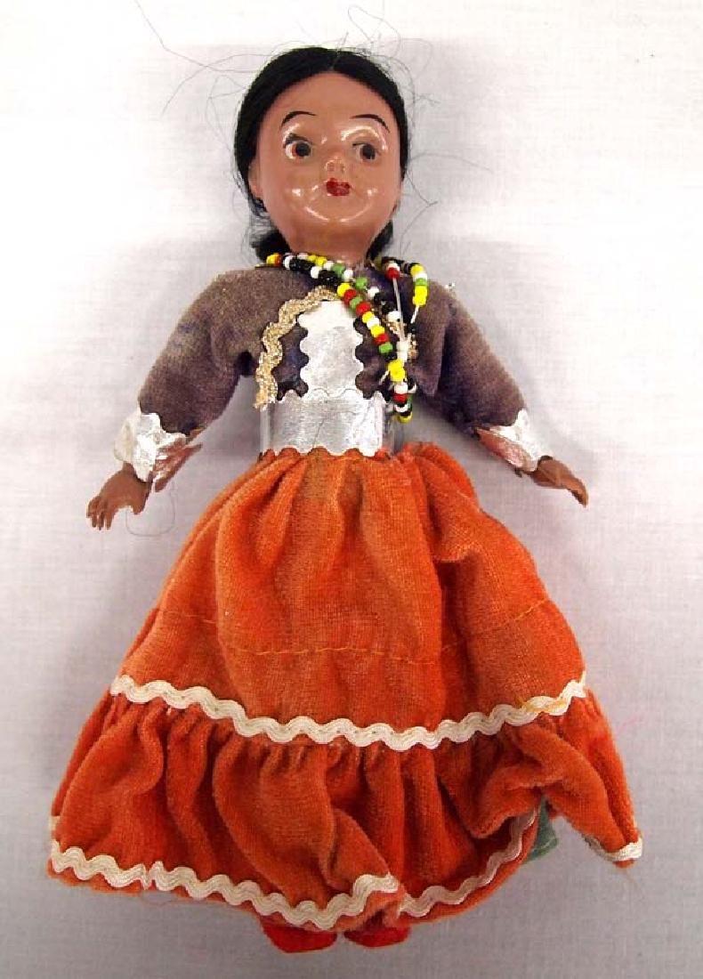 Rare 1950's Navajo Celluloid Doll