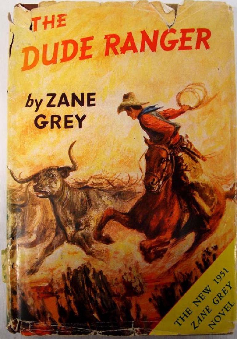 The Dude Ranger by Zane Grey, Hardback Book