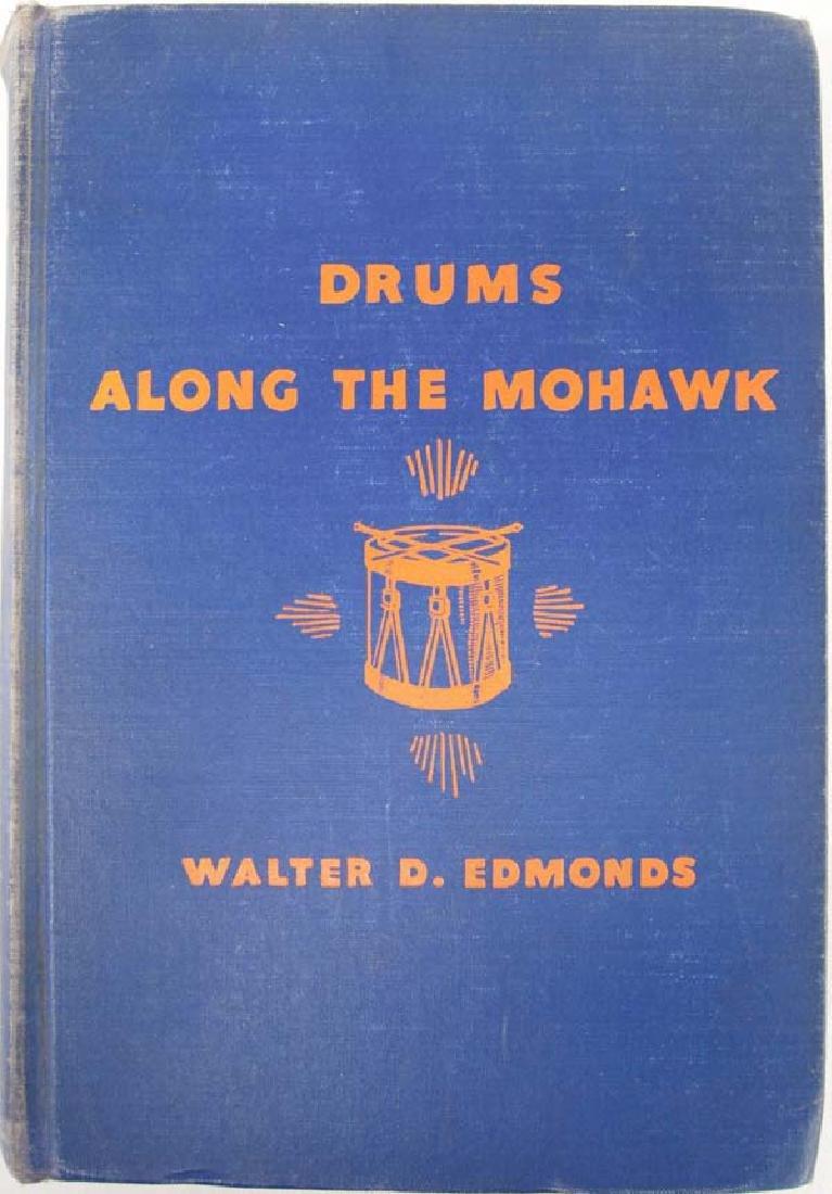 Drums Along the Mohawk by Edmonds, Hardback Book
