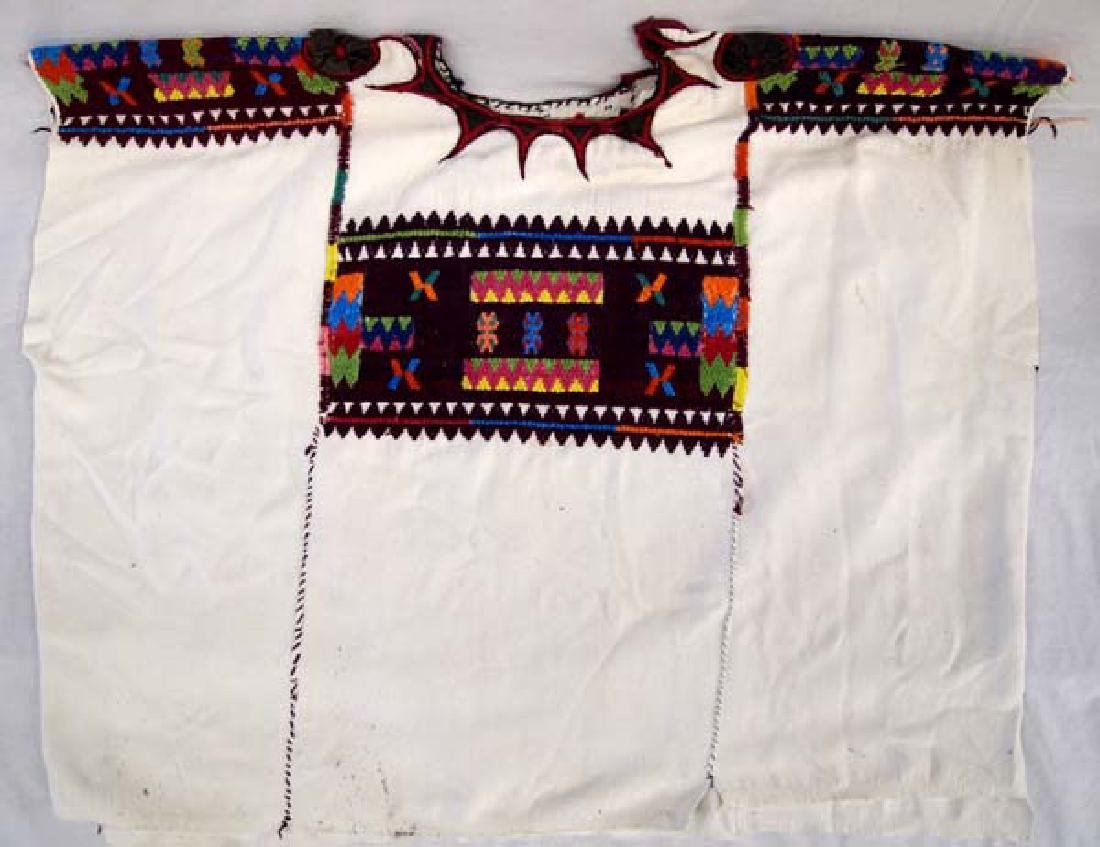South American Hand Embroidered Blouse