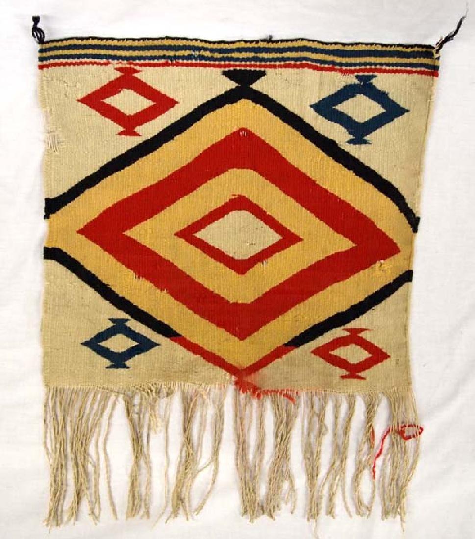 Native American Germantown Navajo Wool Sampler