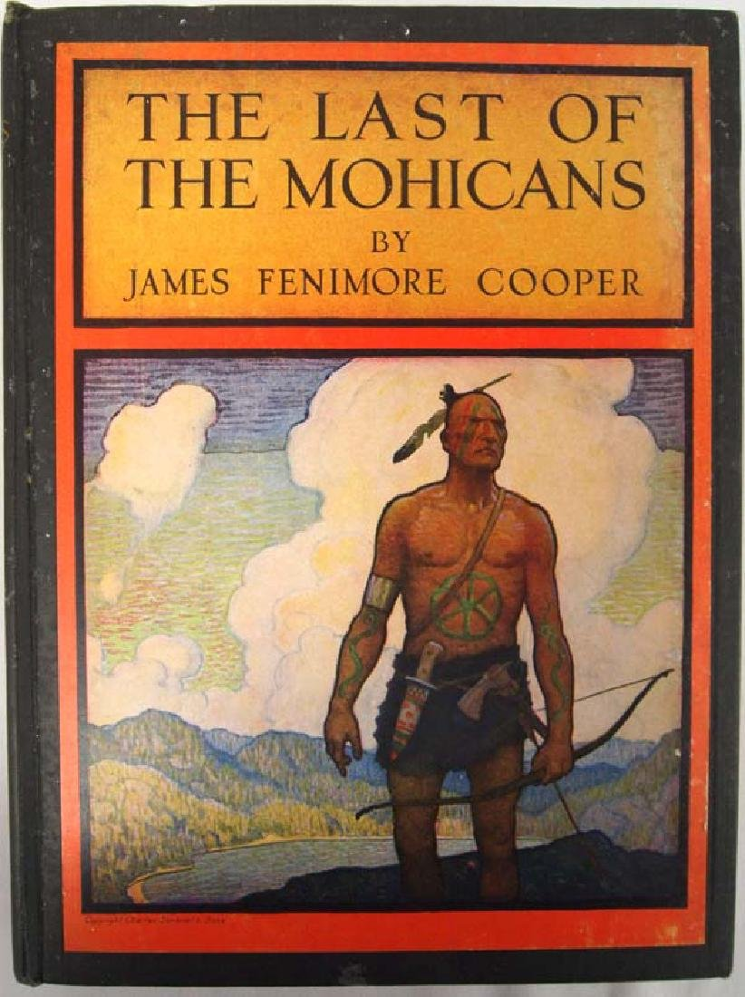 1947 Last of the Mohicans by Cooper,Hardback Book