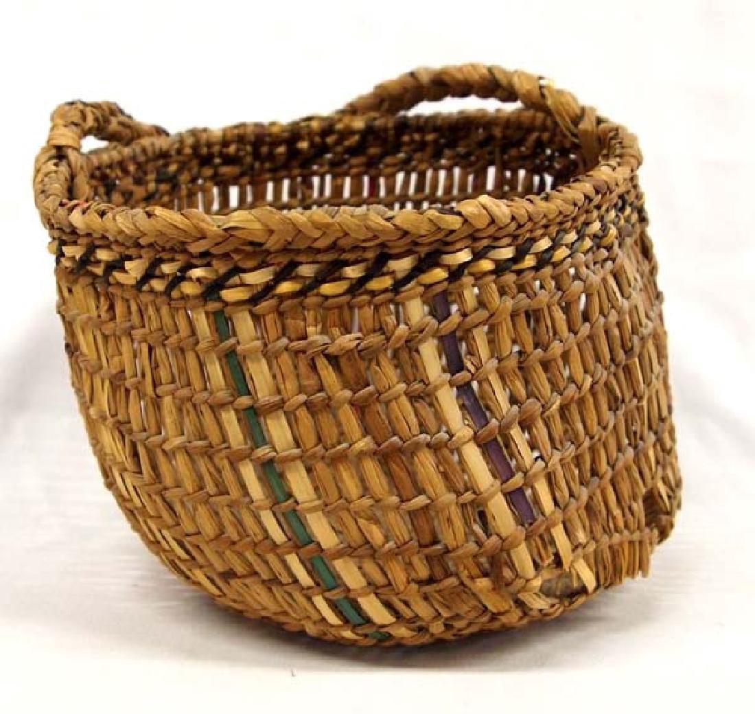 Native American Northwest Coast Clamming Basket