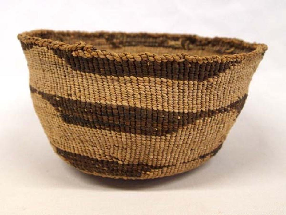 Old Native American California Klamath Basket