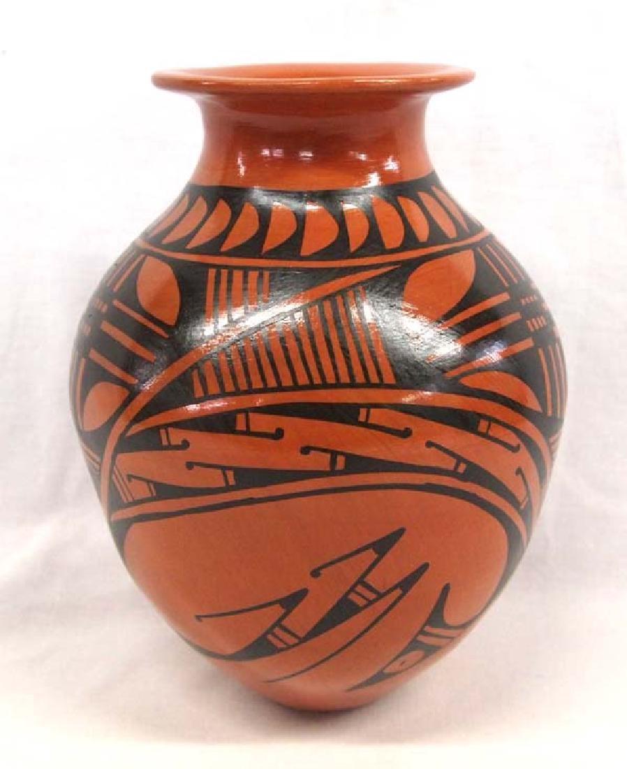 Mexican Mata Ortiz Pottery Jar by Chelo Soto A.