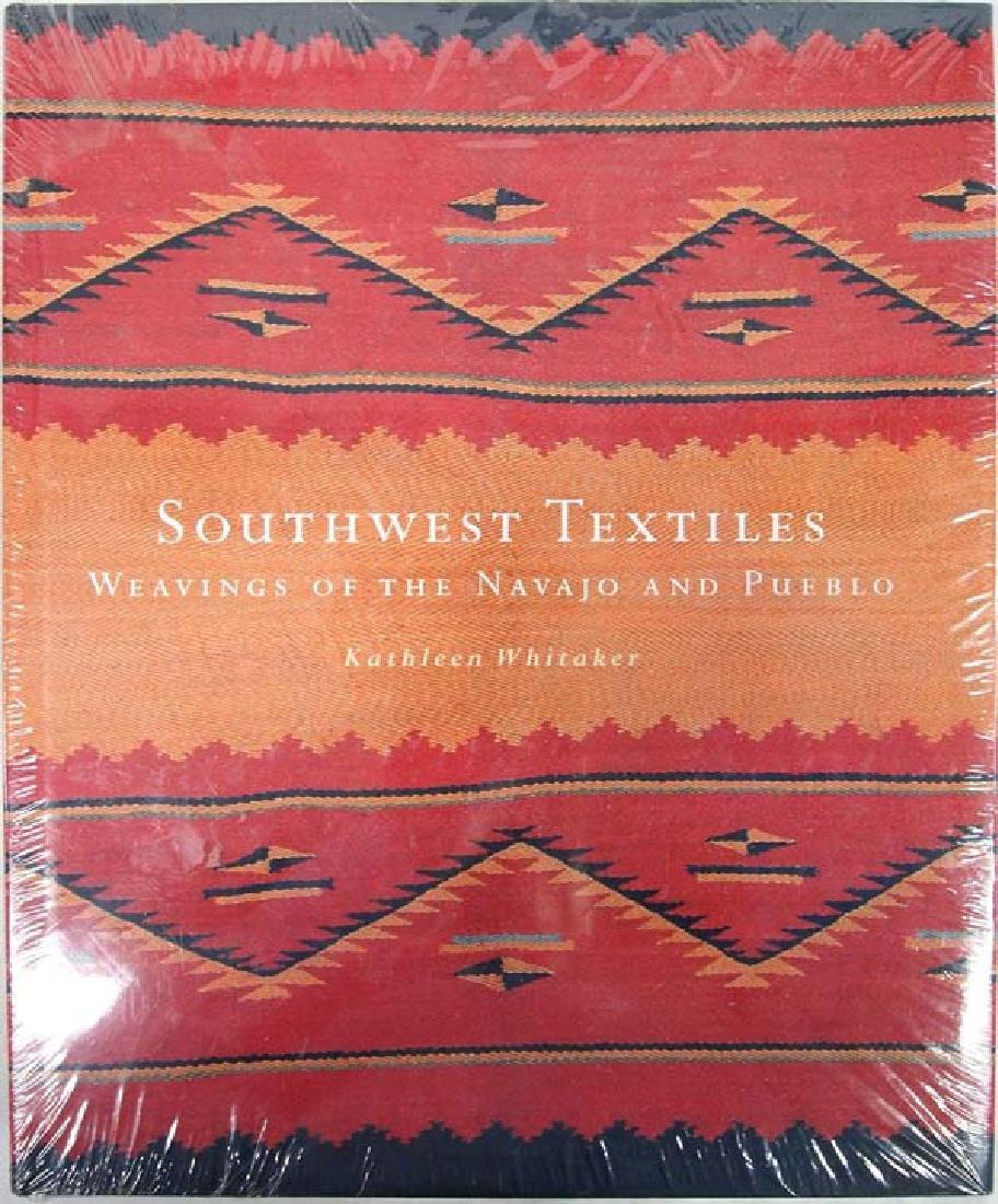 Southwestern Textiles by Whitaker, Hardback Book