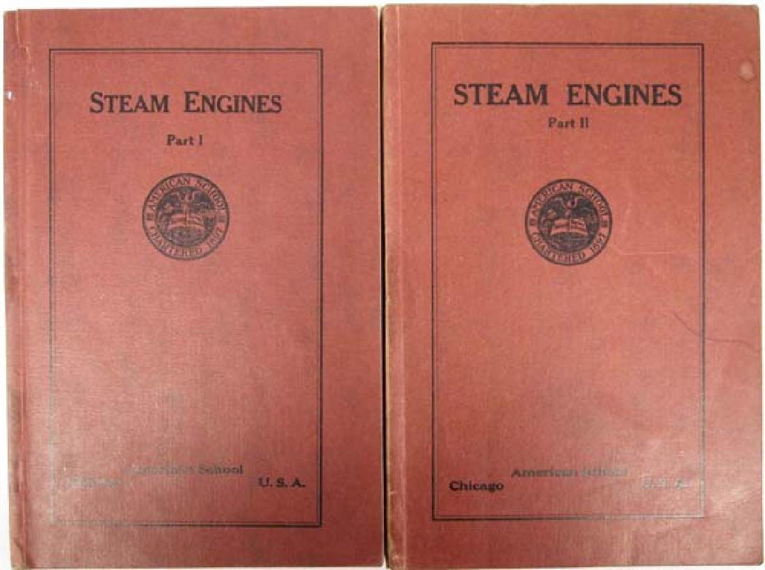 Steam Engines Part 1 and Part 2, Softback Books