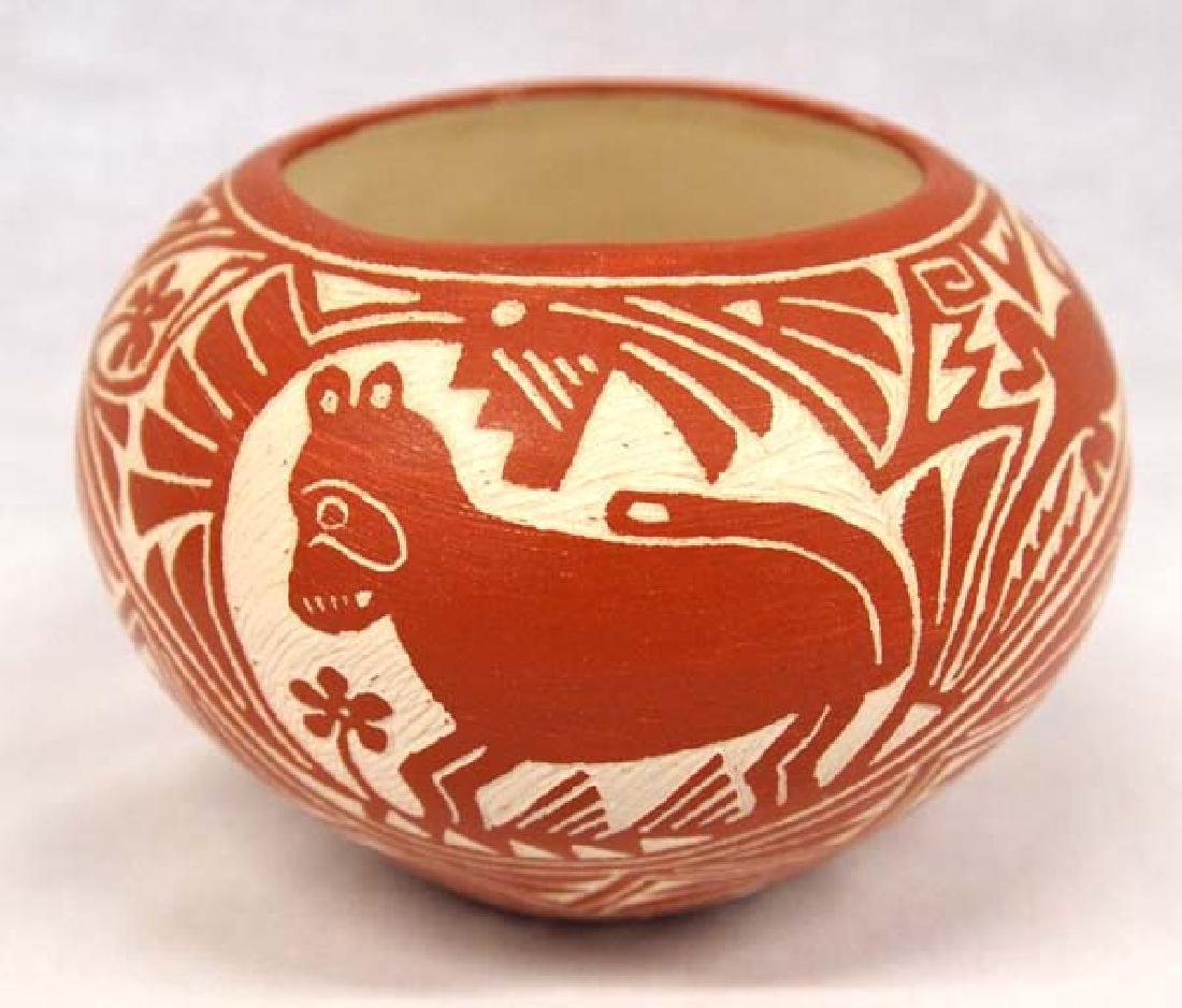 Native American Laguna Pueblo Pottery Jar, Garcia