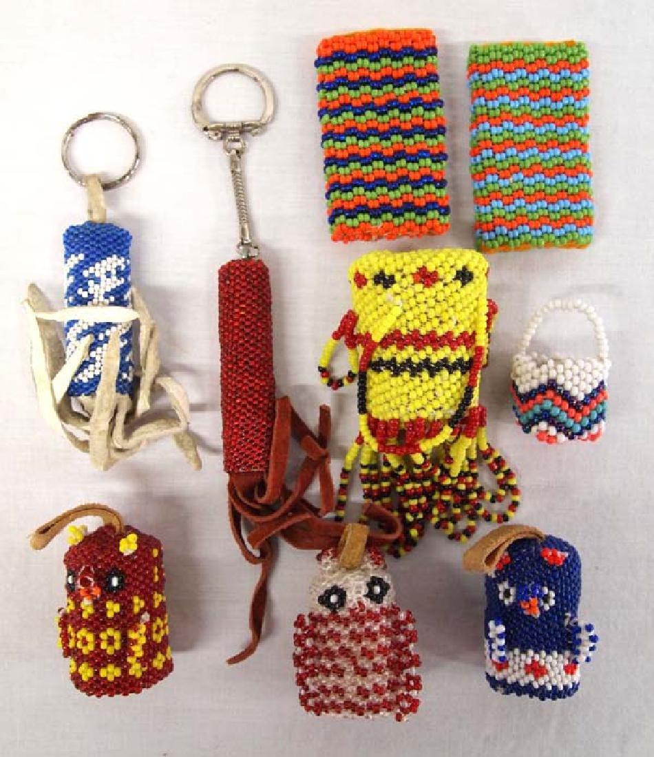 Native American Pueblo Beaded Items