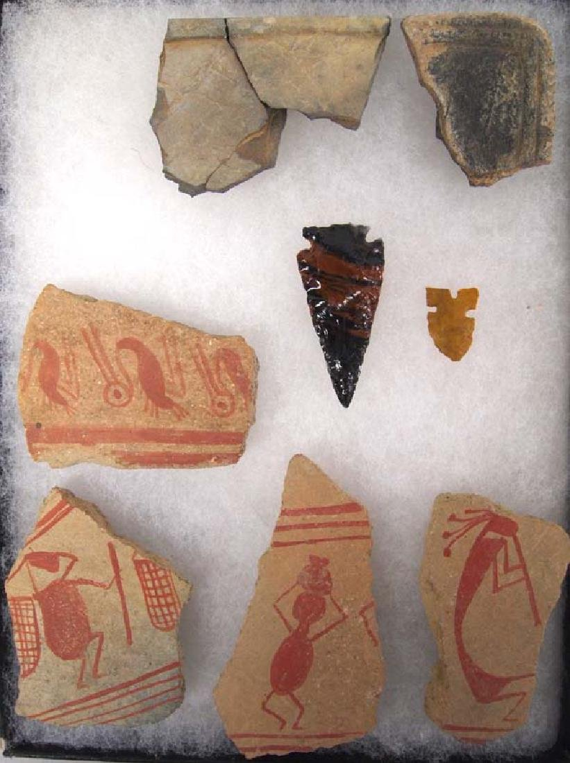 Prehistoric and Contemporary Hohokam Artifacts