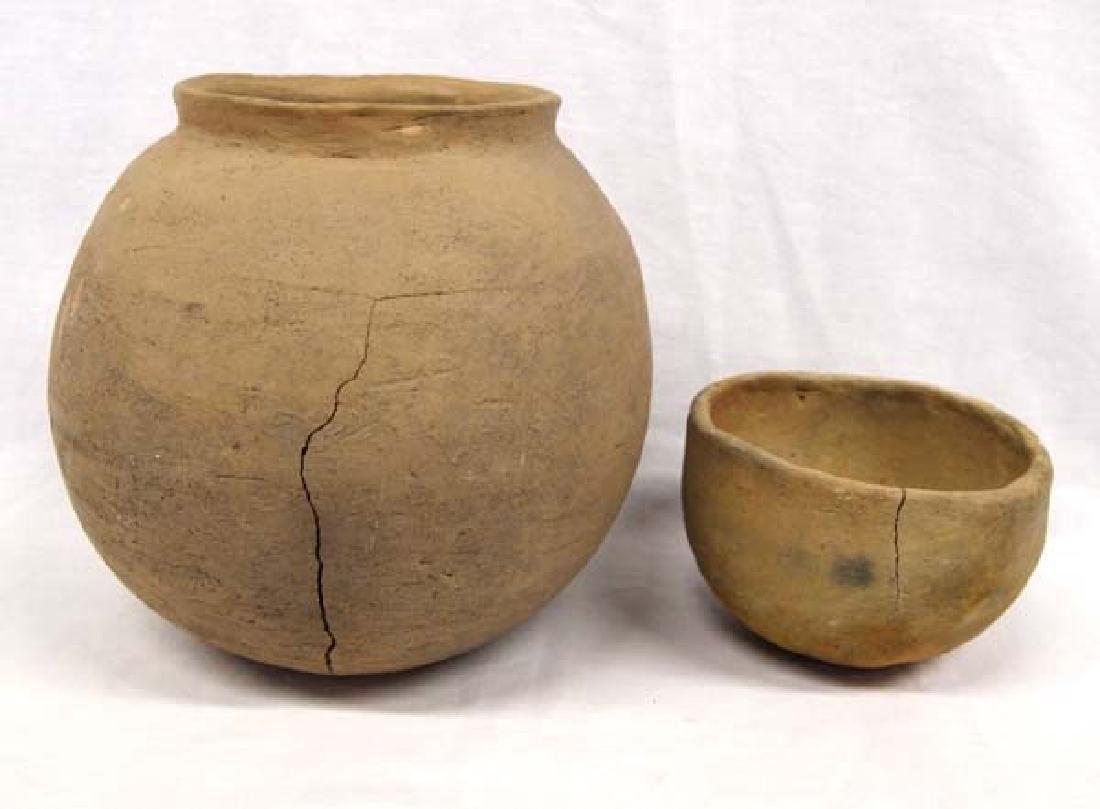 2 Native American Historic Pueblo Pots