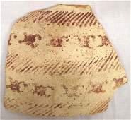 Large Prehistoric Hohokam Water Bug Pottery Sherd