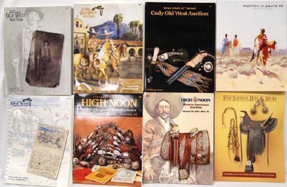 Collection of 9 Auction Catalogs, Great References