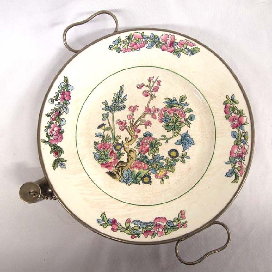 Antique Plate Warmer 10in D SH $16