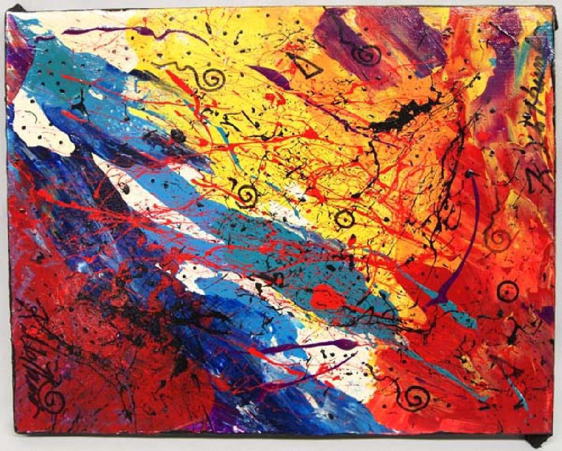 Kills Thunder Painting 14in, SH $12