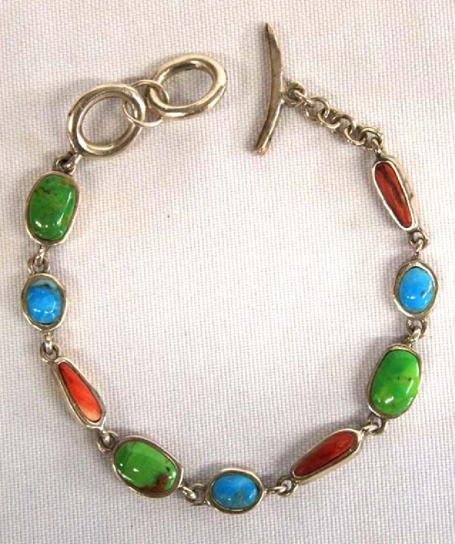 Sterling Bracelet 7 3/4in L SH $8